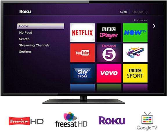 TV screen menu